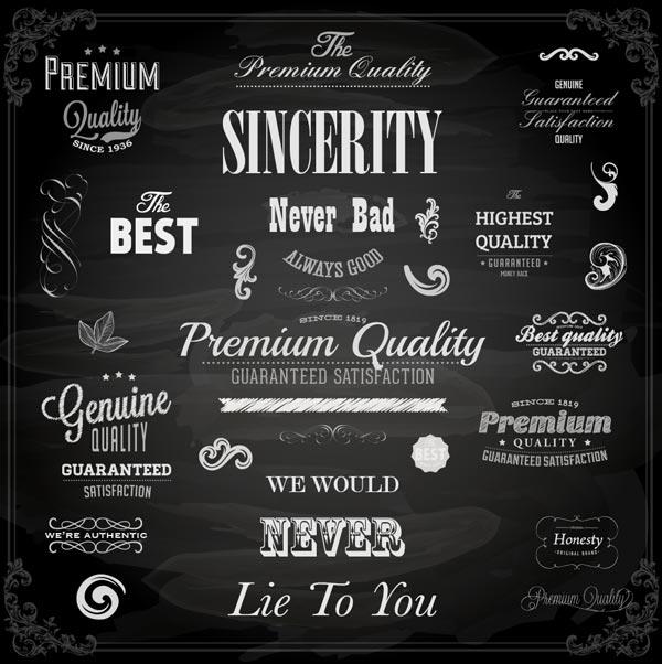 Empty sincerity